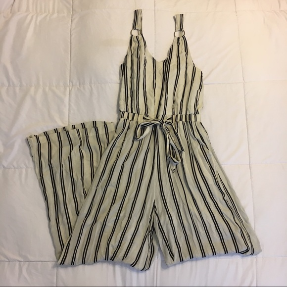 Urban Outfitters Pants Striped Jumpsuit Poshmark
